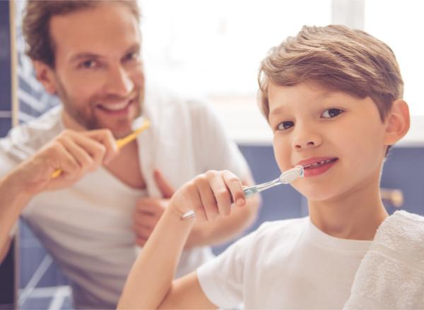Στοματική υγεία των παιδιών