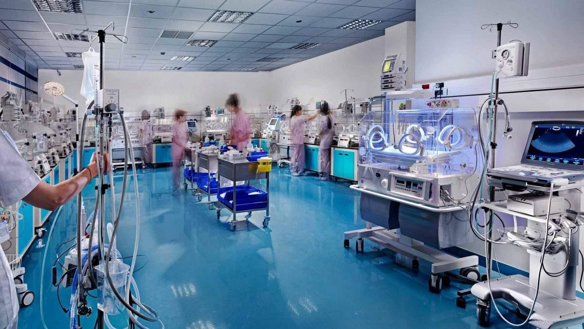 Μονάδα Εντατικής Νοσηλείας Νεογνών Μ.Ε.Ν.Ν.
