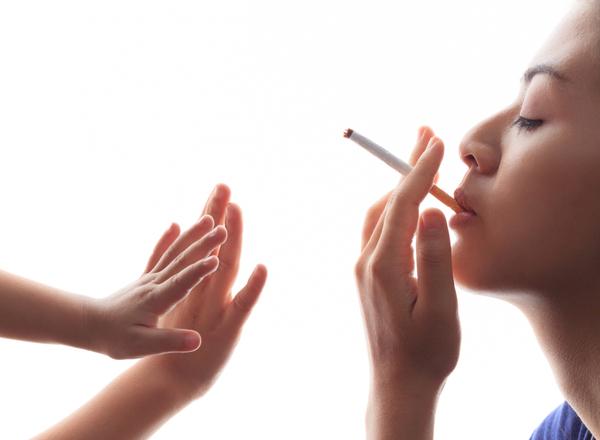 Το παιδί παθητικός καπνιστής