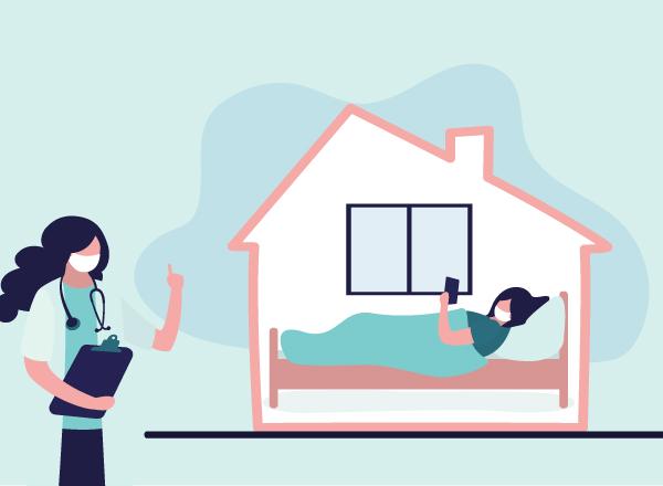 Οδηγίες για φροντίδα στο σπίτι ύποπτου ή επιβεβαιωμένου κρούσματος COVID-19
