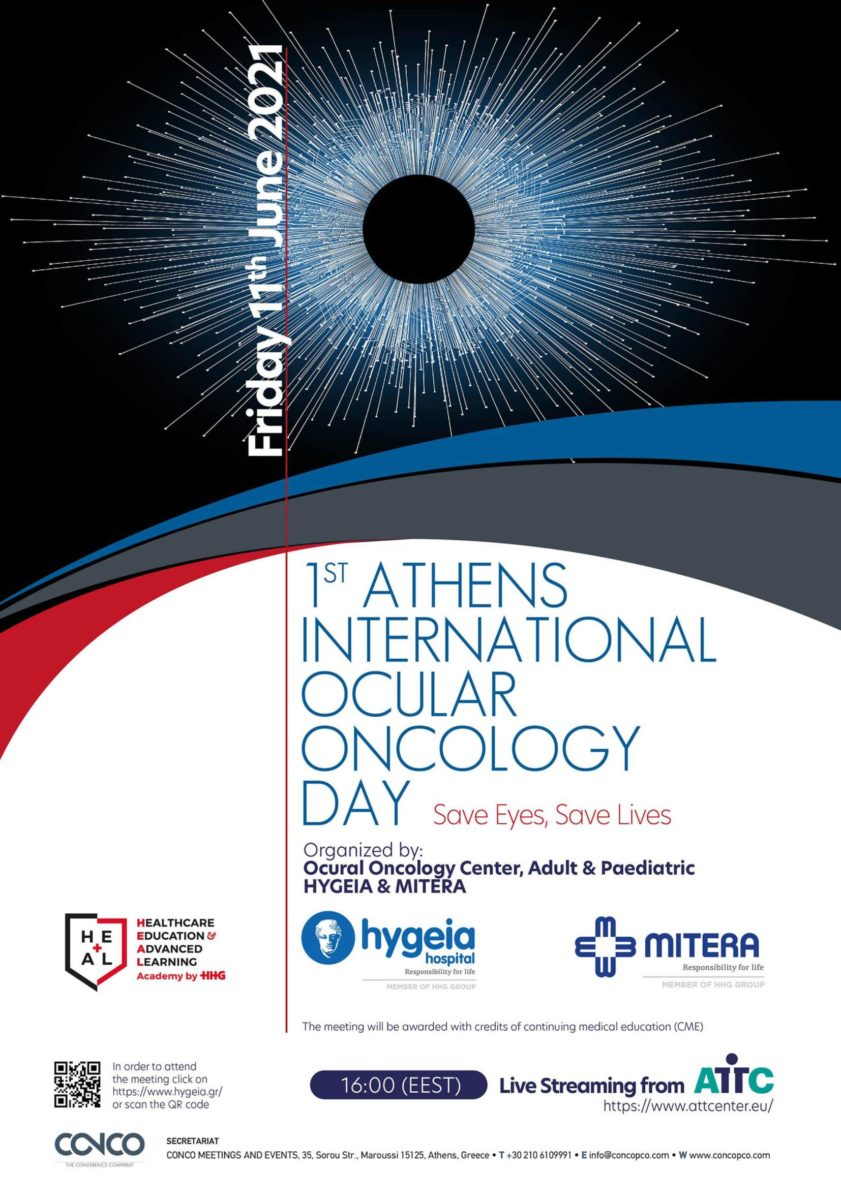 1st Athens International Ocular Oncology Day